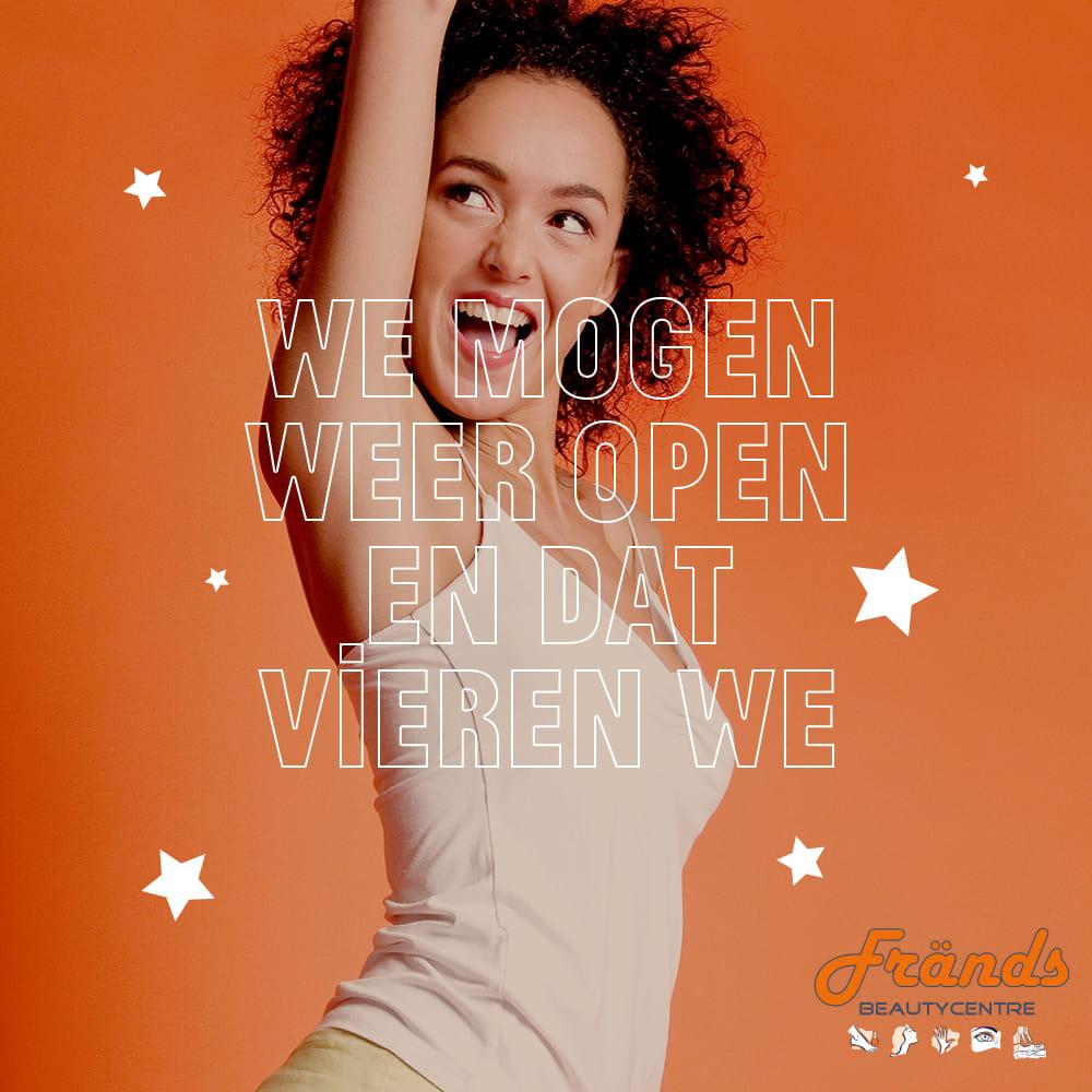 Frands schoonheidssalon Voorschoten we mogen weer open